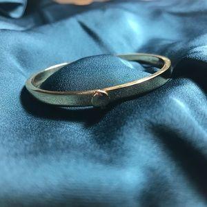 Kate Spade Spade Thin Hinge Gold Bracelet